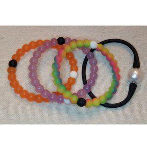 BUNDLE ONLY Lot Lokai plus bracelets rubber